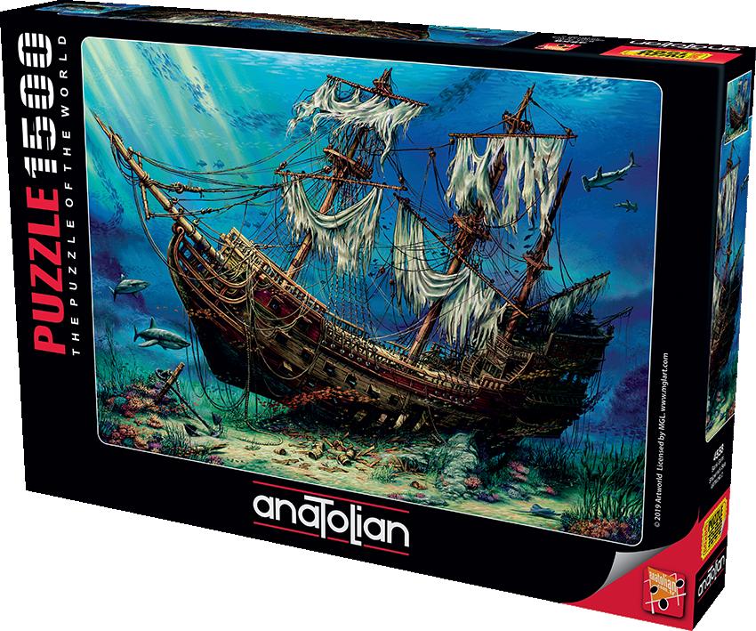 Anatolian - Batık Gemi / Shipwreck Sea