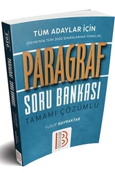 Benim Hocam Yayınları - Benim Hocam Yayınları 2020 Tüm Adaylar İçin Paragraf Tamamı Çözümlü Soru Bankası