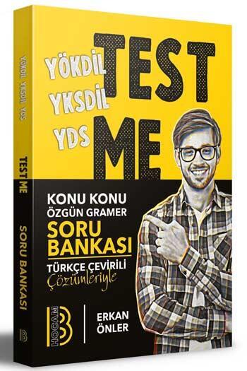 Benim Hocam Yayıncılık - Benim Hocam Yayınları 2020 YÖKDİL YKSDİL YDS Gramer Test Me Soru Bankası