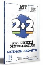 Benim Hocam Yayıncılık - Benim Hocam Yayınları 2021 AYT Matematik Geometri 2+2 Soru Destekli Özet Ders Notları