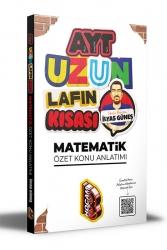 Benim Hocam Yayıncılık - Benim Hocam Yayınları 2021 AYT Uzun Lafın Kısası Matematik Özet Konu Anlatımı