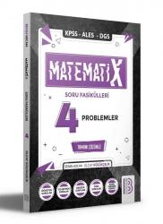 Benim Hocam Yayıncılık - Benim Hocam Yayınları 2021 KPSS ALES DGS MatematiX Soru Fasikülleri 4
