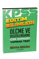 Benim Hocam Yayıncılık - Benim Hocam Yayınları 2021 KPSS Eğitim Bilimleri Ölçme ve Değerlendirme Çek Kopart Yaprak Test