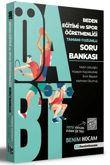 Benim Hocam Yayıncılık - Benim Hocam Yayınları 2021 ÖABT Beden Eğitimi ve Spor Öğretmenliği Tamamı Çözümlü Soru Bankası