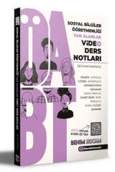 Benim Hocam Yayıncılık - Benim Hocam Yayınları 2021 ÖABT Sosyal Bilgiler Öğretmenliği Yan Alanlar Video Ders Notları