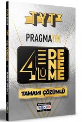 Benim Hocam Yayıncılık - Benim Hocam Yayınları 2021 TYT Tamamı Çözümlü 4 Deneme Sınavı Pragmatik Serisi