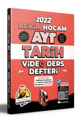 Benim Hocam Yayıncılık - Benim Hocam Yayınları 2022 AYT Tarih Video Ders Defteri