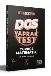 Benim Hocam Yayıncılık - Benim Hocam Yayınları 2022 DGS Türkçe - Matematik Yaprak Test