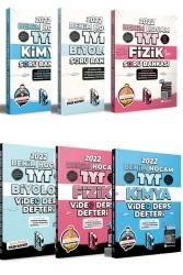 Benim Hocam Yayıncılık - Benim Hocam Yayınları 2022 TYT F-K-B Soru ve Ders Notu Seti