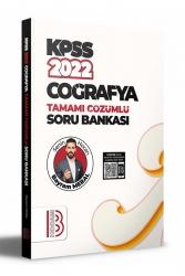Benim Hocam Yayıncılık - Benim Hocam Yayınları 2022 KPSS Coğrafya Tamamı Çözümlü Soru Bankası