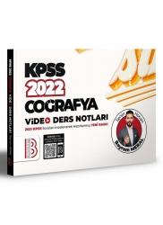 Benim Hocam Yayıncılık - Benim Hocam Yayınları 2022 KPSS Coğrafya Video Ders Notları