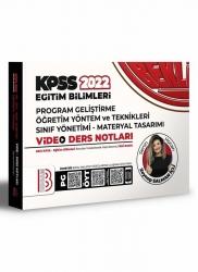 Benim Hocam Yayıncılık - Benim Hocam Yayınları 2022 KPSS Eğitim Bilimleri Program Geliştirme Öğretim Yöntem ve Teknikleri Video Ders Notları
