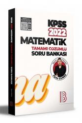 Benim Hocam Yayıncılık - Benim Hocam Yayınları 2022 KPSS Matematik Tamamı Çözümlü Soru Bankası