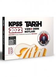 Benim Hocam Yayıncılık - Benim Hocam Yayınları 2022 KPSS Tarih Video Ders Notları