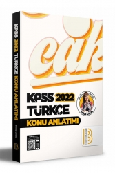 Benim Hocam Yayıncılık - Benim Hocam Yayınları 2022 KPSS Türkçe Konu Anlatımı