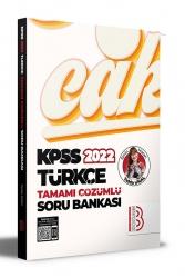 Benim Hocam Yayıncılık - Benim Hocam Yayınları 2022 KPSS Türkçe Tamamı Çözümlü Soru Bankası