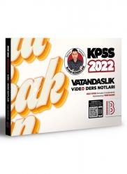 Benim Hocam Yayıncılık - Benim Hocam Yayınları 2022 KPSS Vatandaşlık Video Ders Notları