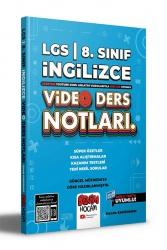 Benim Hocam Yayıncılık - Benim Hocam Yayınları 2022 LGS 8.Sınıf İngilizce Video Ders Notları