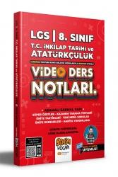 Benim Hocam Yayıncılık - Benim Hocam Yayınları 2022 LGS 8.Sınıf İnkılap Tarihi ve Atatürkçülük Video Ders Notları