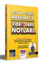 Benim Hocam Yayıncılık - Benim Hocam Yayınları 2022 LGS 8.Sınıf Matematik Video Ders Notları