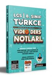 Benim Hocam Yayıncılık - Benim Hocam Yayınları 2022 LGS 8.Sınıf Türkçe Video Ders Notları