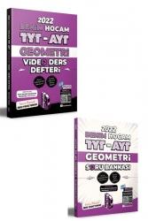Benim Hocam Yayıncılık - Benim Hocam Yayınları 2022 TYT AYT Geometri Video Ders Defteri ve Soru Bankası Seti