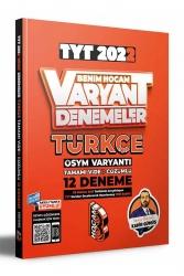Benim Hocam Yayıncılık - Benim Hocam Yayınları 2022 TYT Türkçe Tamamı Video Çözümlü 12 Deneme Sınavı