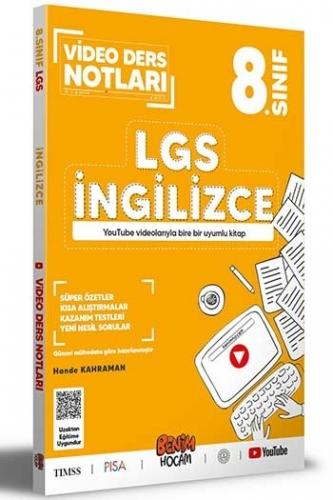 Benim Hocam Yayınları 8. Sınıf LGS İngilizce Video Ders Notları