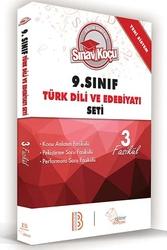 Benim Hocam Yayınları - Benim Hocam Yayınları 9. Sınıf Türk Dili ve Edebiyatı Sınav Koçu Konu Anlatımlı 3 Fasikül Set
