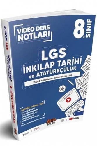 Benim Hocam Yayınları LGS 8.Sınıf İnkılap Tarihi ve Atatürkçülük Video Ders Notları