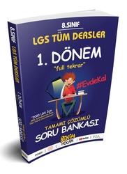 Benim Hocam Yayıncılık - Benim Hocam Yayınları LGS 8.Sınıf Tüm Dersler 1.Dönem Full Tekrar Soru Bankası
