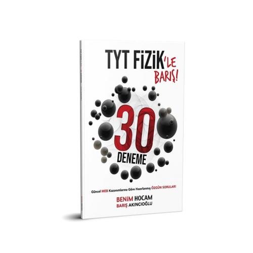 Benim Hocam Yayınları TYT Fizik 30 Deneme