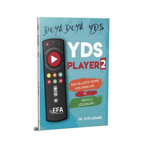 Benim Hocam Yayınları YDS Player 2 Son Yıllarda Çıkmış YDS Sınavları ve Çözümleri EFA Serisi