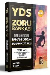 Benim Hocam Yayıncılık - Benim Hocam Yayınları YDS Tamamı Çözümlü Zoru Bankası