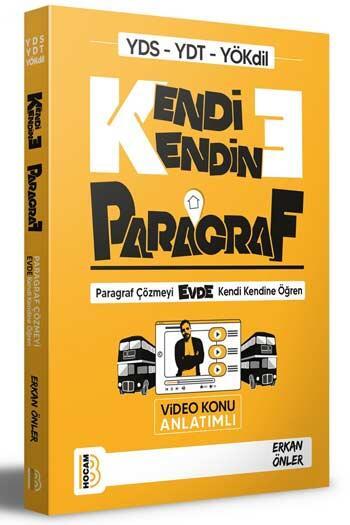 Benim Hocam Yayıncılık - Benim Hocam Yayınları YDS YDT YÖKDİL Kendi Kendine Paragraf Video Konu Anlatımlı