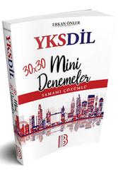 Benim Hocam Yayıncılık - Benim Hocam Yayınları YKSDİL 30x30 Tamamı Çözümlü Mini Denemeler