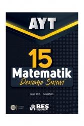 Beş Seçenek Yayınları - Beş Seçenek Yayınları AYT Matematik 15 Deneme Sınavı
