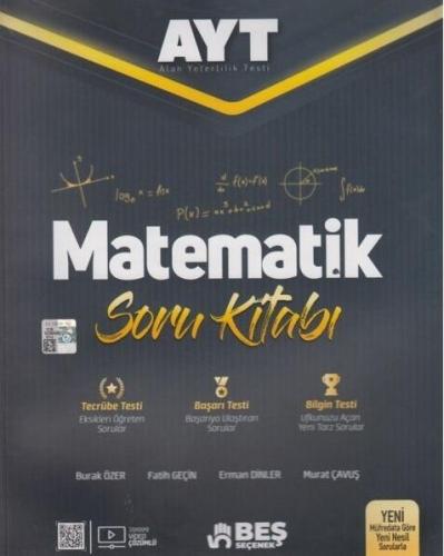 Beş Seçenek Yayınları AYT Matematik Soru Kitabı