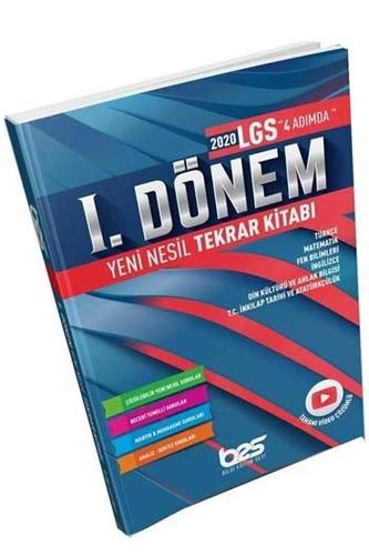 Bes Yayınları 8. Sınıf LGS 1. Dönem Yeni Nesil Tekrar Kitabı