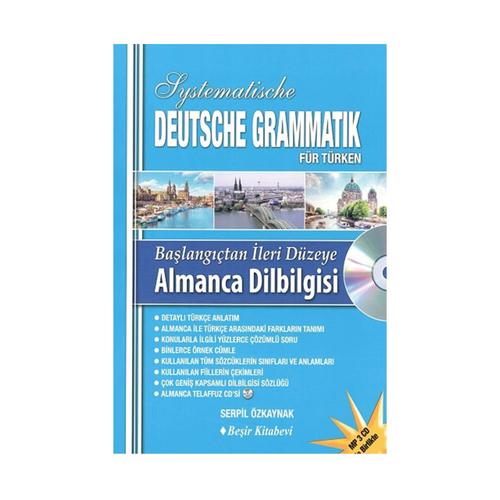 Beşir Kitabevi Başlangıçtan İleri Düzeye Almanca Dil Bilgisi CDli