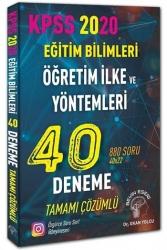 Beyin Eseri Yayınları - Beyin Eseri Yayınları 2020 KPSS Eğitim Bilimleri ÖYT Öğretim İlke ve Yöntemleri Çözümlü 40 Deneme