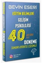 Beyin Eseri Yayınları - Beyin Eseri Yayınları KPSS Eğitim Bilimleri Gelişim Psikolojisi 40 Deneme Çözümlü