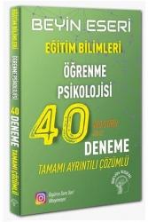 Beyin Eseri Yayınları - Beyin Eseri Yayınları KPSS Eğitim Bilimleri Öğrenme Psikolojisi 40 Deneme Çözümlü
