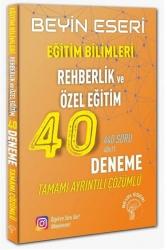 Beyin Eseri Yayınları - Beyin Eseri Yayınları KPSS Eğitim Bilimleri Rehberlik ve Özel Eğitim 40 Deneme Çözümlü