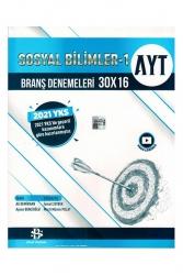 Bilgi Sarmal Yayınları - Bilgi Sarmal AYT Sosyal Bilimler 1 30 x 16 Branş Denemeleri
