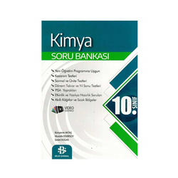 Bilgi Sarmal Yayınları - Bilgi Sarmal Yayınları 10. Sınıf Kimya Soru Bankası