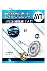 Bilgi Sarmal Yayınları - Bilgi Sarmal Yayınları 2021 AYT Biyoloji 25 x 13 Denemeleri