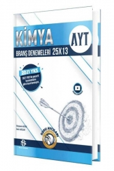 Bilgi Sarmal Yayınları - Bilgi Sarmal Yayınları 2021 YKS AYT Kimya 25x13 Branş Denemeleri Video Çözümlü