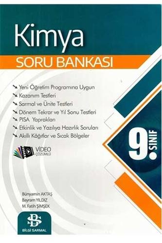 Bilgi Sarmal Yayınları 9. Sınıf Kimya Soru Bankası