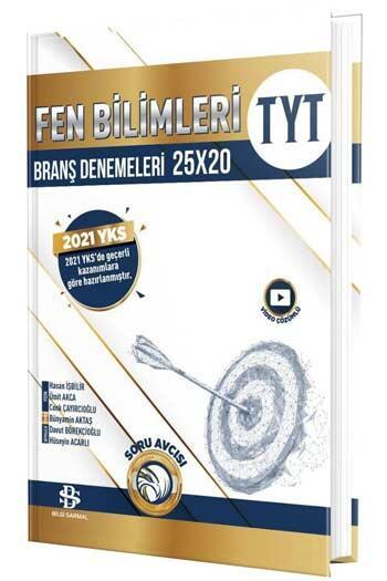 Bilgi Sarmal Yayınları - Bilgi Sarmal Yayınları TYT Fen Bilimleri 25×20 Branş Denemeleri
